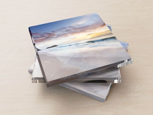 Tenby Dawn, Pembrokeshire, Wales - Glass Coasters